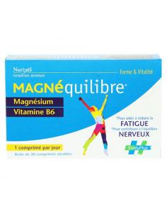 Magnéquilibre Forme & Vitalité Magnésium Vitamine B6. 30 comprimés sécables