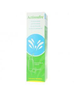 Actisoufre Solution pour pulvérisation nasale et buccale