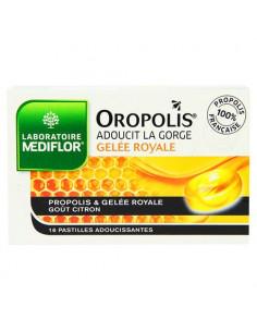 Oropolis Coeur Liquide Gelée Royale. 16 pastilles goût citron