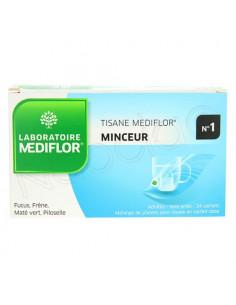 Mediflor Tisane N°1 Minceur plantes pour tisane adultes. 24 sachets-dose