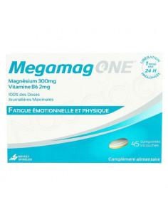 Megamag One Fatigue Emotionnelle et Physique. 45 compimés