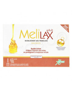 Aboca Melilax Adult Microlavement Double Action. x6