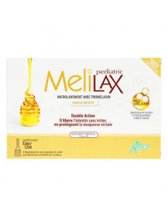 Aboca Melilax Pediatric Microlavement Double Action. x6