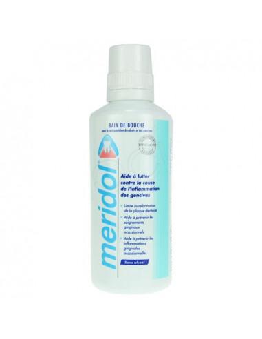 MERIDOL solution bain bouche sans alcool. Flacon de 400ml - ACL 7435008