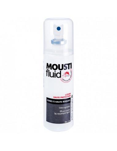 Moustifluid Lotion Anti-moustiques Haute Protection Zones à Hauts Risques. 100ml -
