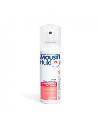 Moustifluid Lotion Anti-Moustiques Haute Protection Zones Tropicales et à Risques. 100ml -