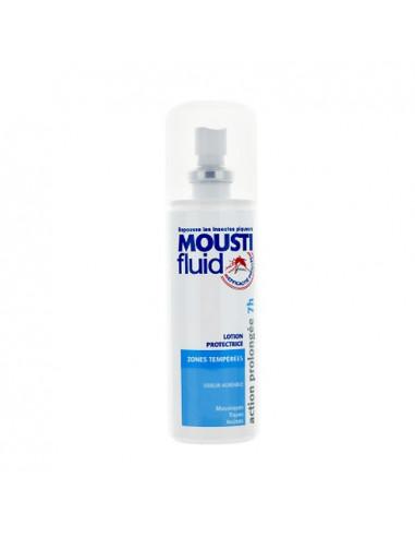 Moustifluid Lotion Protectrice Anti-moustiques Zones Tempérées. 100ml -