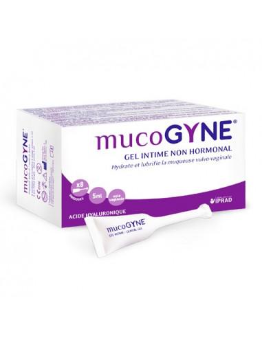 Mucogyne Gel Intime Non-hormonal. 8 unidoses de 5ml