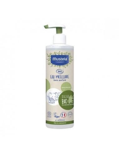 Mustela Eau Micellaire Bio sans parfum. 400ml