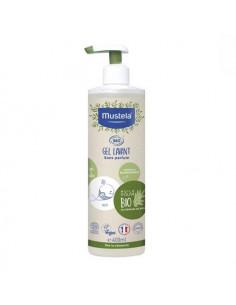 Mustela Gel Lavant Bio sans parfum. 400ml