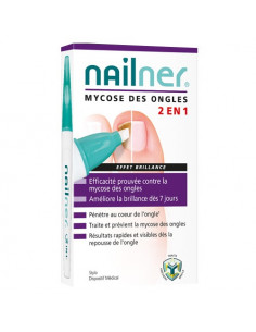 Nailner Mycose des Ongles 2en1 Effet Brillance. Stylo 4ml
