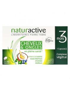 Naturactive Cheveux & Ongles Complexe Végétal. Lot 2*45 capsules - offre promotionnelle