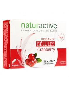 naturactive Urisanol Cranberry. 30 gélules : confort urinaire