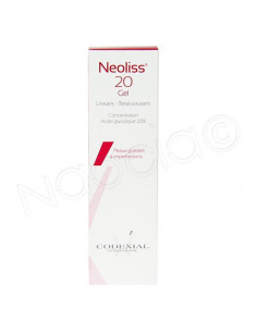 Neoliss 20 Gel Lissant Restructurant. 30ml