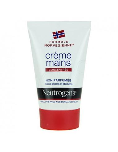 NEUTROGENA Crème mains non parfumée. Tube de 50ml - ACL 7684177