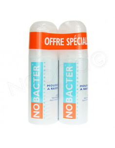 Nobacter Mousse à Raser. Lot 2x150ml