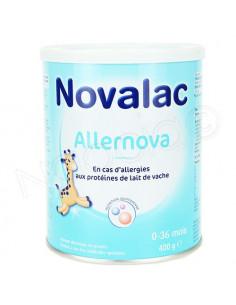 Novalac Allernova 0-36 mois. 400g