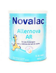 Novalac Allernova AR 0-36 mois. 400g
