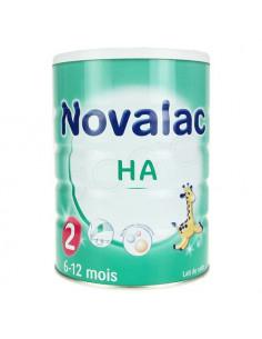NOVALAC HYPOALLERGENIQUE Aliment lacté 2ème âge. Boîtes de 800g - ACL 7865134
