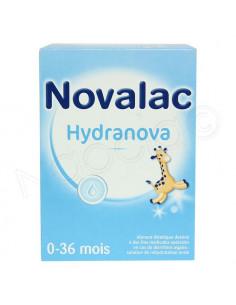 Novalac Hydranova Poudre solution buvable réhydratation. 10 Sachets de 65g - ACL 4444030