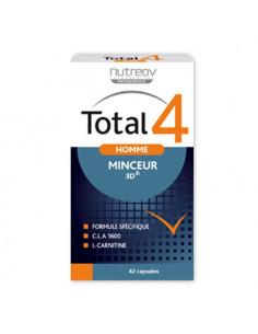 Nutreov Total 4 Homme Minceur 3D. 42 capsules