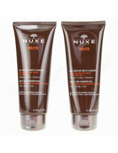Nuxe Men Gel Douche multi-Usages. Lot 2x200ml