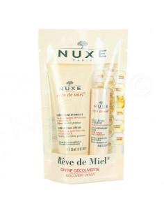 Nuxe Rêve de Miel Crème Mains et Ongles 30ml + Stick Lèvres 4g