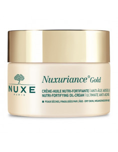 Nuxuriance Gold Crème Huile Nutri-Reconstituante Anti-âge Absolu. 50ml