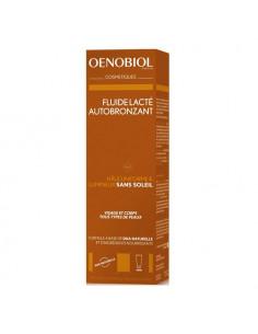 Oenobiol Autobronzant Fluide Lacté visage et corps. 100ml
