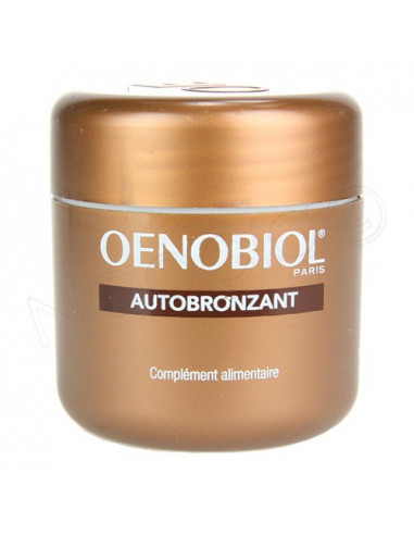 Oenobiol Autobronzant. 30 capsules - 1 mois