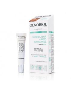 Oenobiol Correcteur de Rides Instantané Crème Yeux & Lèvres. 8ml