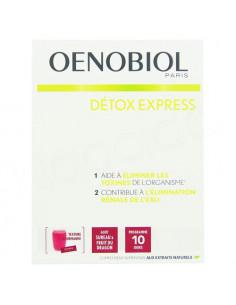 Oenobiol Détox Express Goût Sureau & Fruit du Dragon. 10 sticks