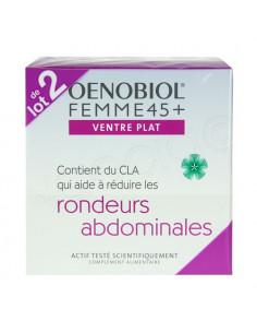 Oenobiol Femme 45+ Ventre Plat Nouvelle Formule. Lot 2 x 60 capsules