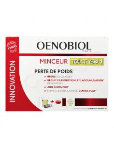 Oenobiol Minceur Tout en 1 Perte de Poids. 30 sticks + 60 comprimés