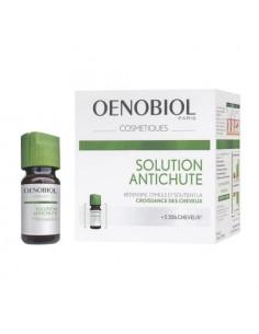 Oenobiol Solution Antichute stimule la croissance des cheveux. 12 flacons de 5ml -