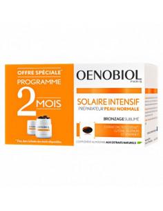 Oenobiol Solaire Intensif Préparateur Peau Normale. Lot 2x30 capsules - préparateur solaire