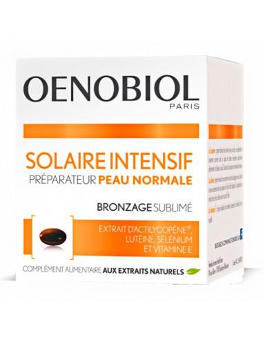 Oenobiol Solaire Intensif Préparateur Peau Normale. 30 capsules - préparation & entretien du bronzag