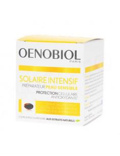 Oenobiol Solaire Intensif Préparateur Peau Sensible. 30 capsules