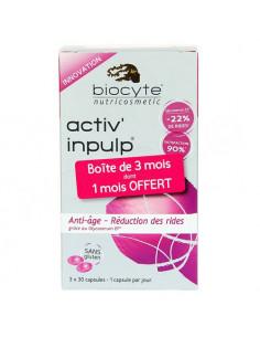 Biocyte Activ'Inpulp 3x30 capsules Offre 3 mois dont 1 OFFERT