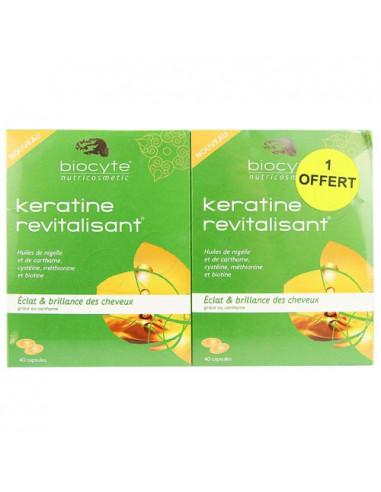 Biocyte Keratine Revitalisant. Lot 2x40 capsules