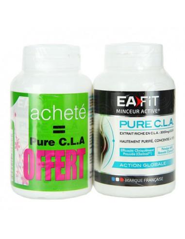 Eafit Pure CLA. Lot 1 boite 90 capsules + 1 boite OFFERTE