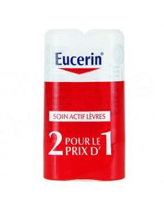 Offre Eucerin Baume à Lèvres Lip Activ. Lot 2x48g