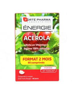 Forté Pharma Energie Acérola - 60 comprimés - format 2 mois
