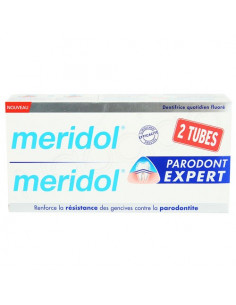 Offre Meridol Parodont Expert Dentifrice Gencives. Lot 2x75ml