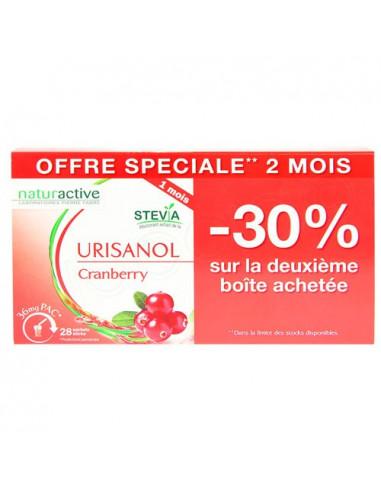 Naturactive Urisanol Cranberry. Lot 2x28 sticks