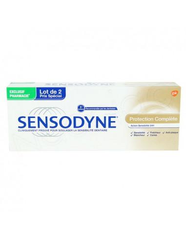 Offre Sensodyne Dentifrice Protection Complète. Lot 2x75ml