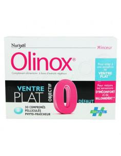 Olinox Ventre Plat Objectif 0 Défaut. 30 comprimés