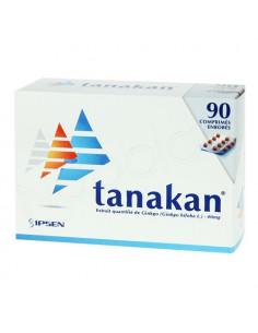 Tanakan. 90 comprimés enrobés