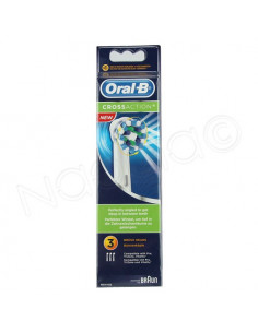 Oral B Cross Action. x3 brossettes