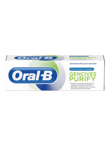 Oral-B Gencives Purify Nettoyage Intense Dentifrice. 75ml